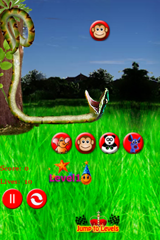 Screenshot Falling Animals