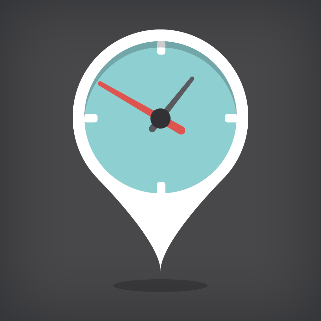 ETA - view driving times in current traffic to your favourite locations by Eastwood icon